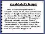 zerubbabel s temple55