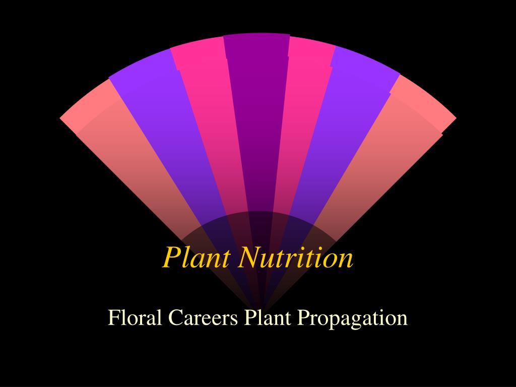 plant nutrition l.