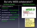 but why web collaboration