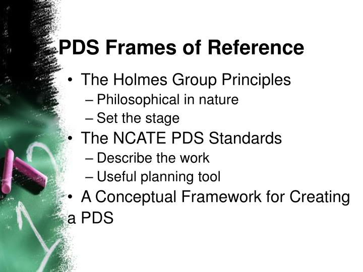 PDS Frames of Reference