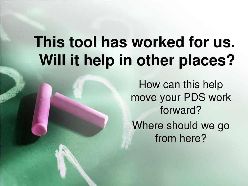This tool has worked for us.  Will it help in other places?