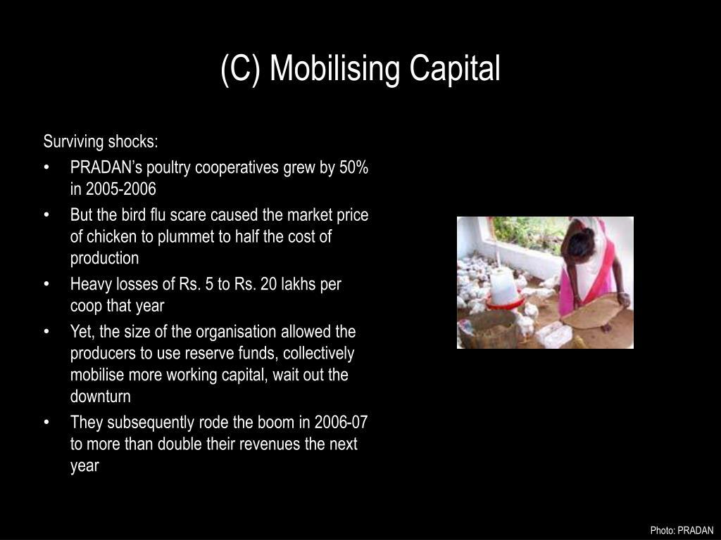 (C) Mobilising Capital