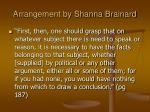 arrangement by shanna brainard10