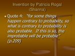 invention by patricia rogal shanna18