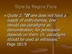 style by regina flora36
