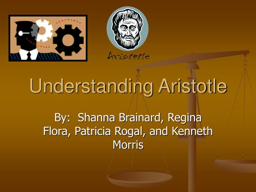understanding aristotle l.
