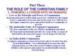part three the role of the christian family15