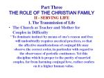 part three the role of the christian family23