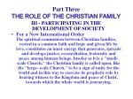 part three the role of the christian family35