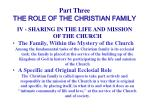 part three the role of the christian family36