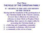 part three the role of the christian family37