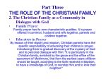 part three the role of the christian family45