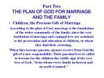 part two the plan of god for marriage and the family11