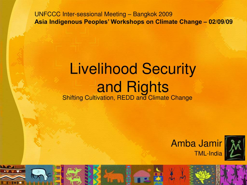 livelihood security and rights l.