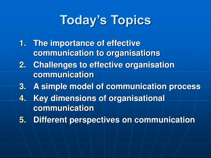topics for ppt in english