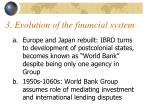 3 evolution of the financial system
