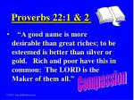 proverbs 22 1 2