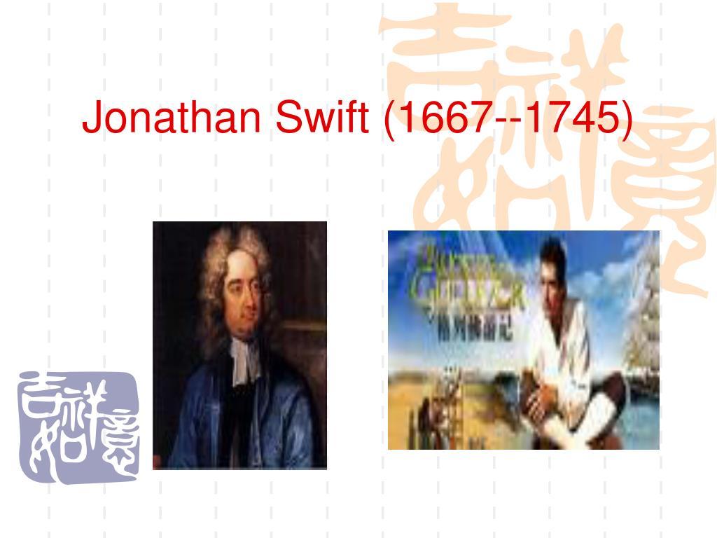 jonathan swift 1667 1745 l.