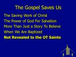 the gospel saves us20