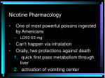 nicotine pharmacology18