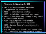 tobacco nicotine in us9