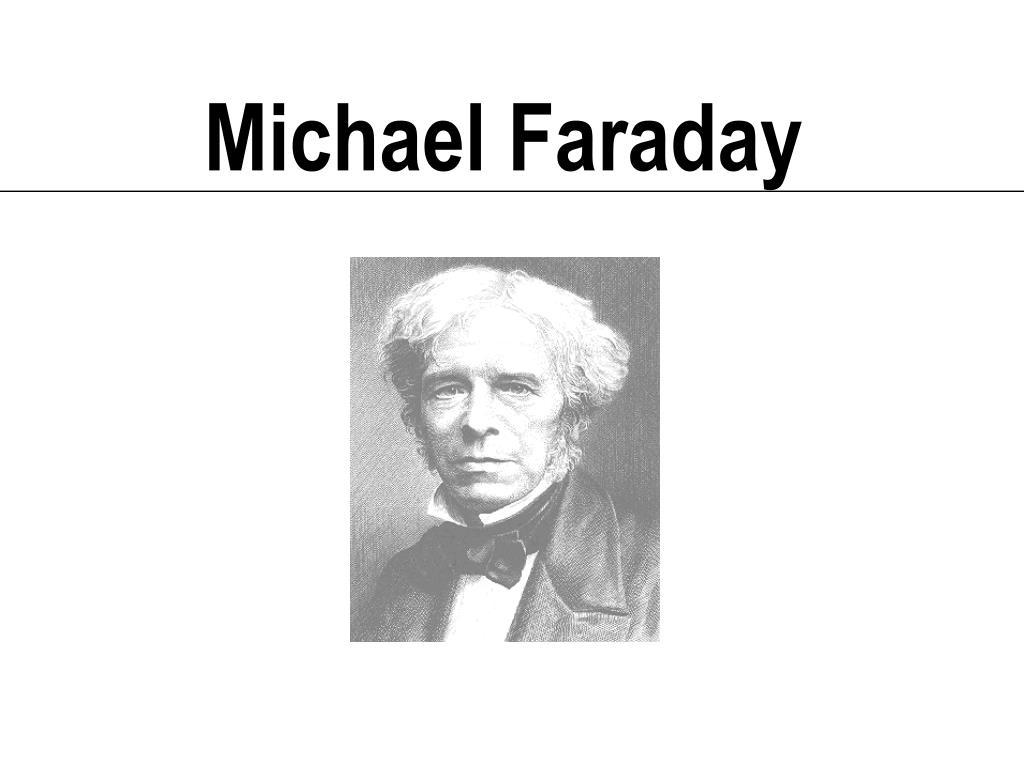 michael faraday l.