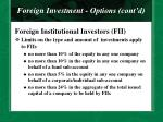 foreign investment options cont d23