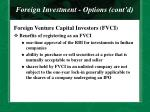 foreign investment options cont d26