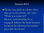 answer 3 b