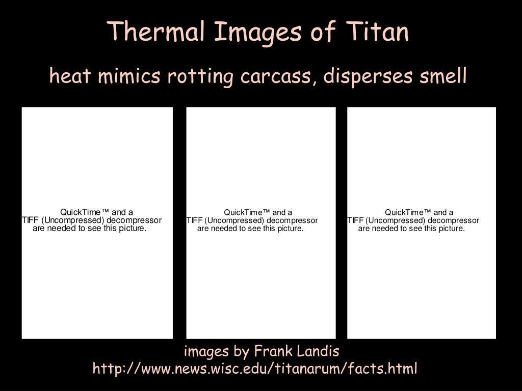 Thermal Images of Titan