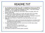 readme txt
