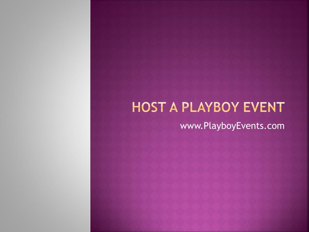 host a playboy event l.