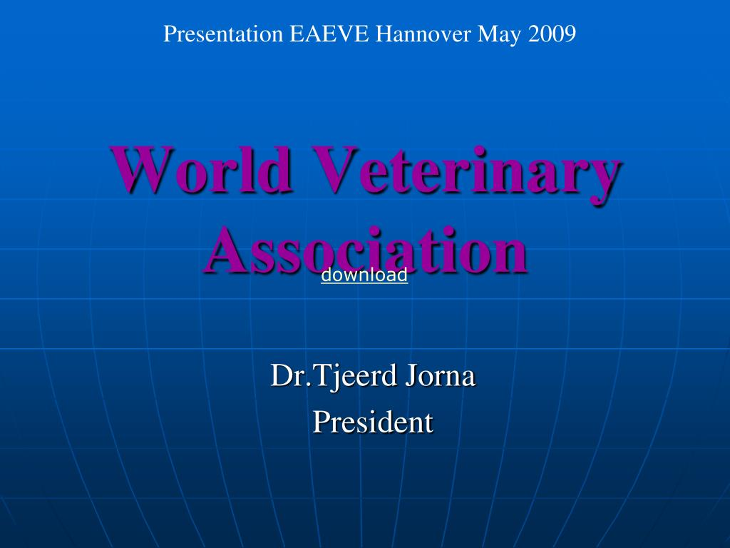 world veterinary association l.