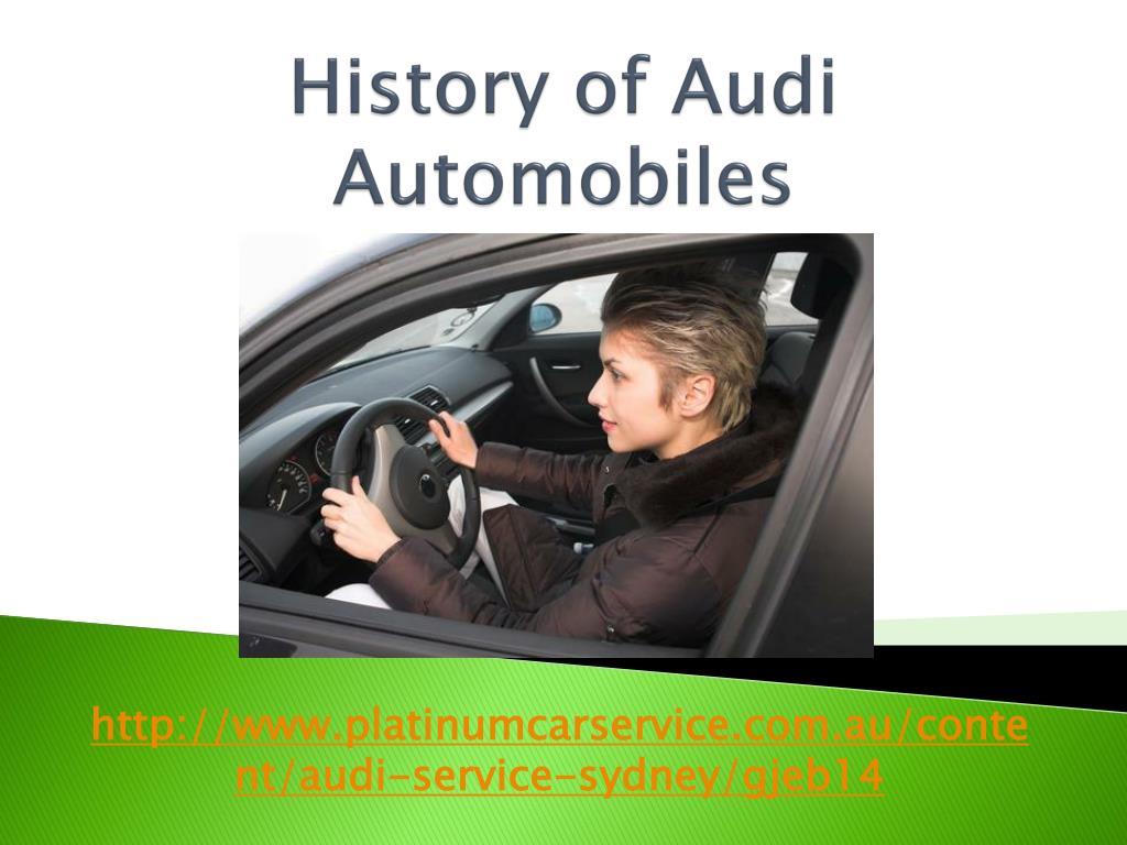 history of audi automobiles l.