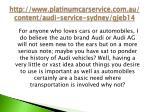http www platinumcarservice com au content audi service sydney gjeb14