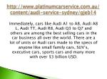 http www platinumcarservice com au content audi service sydney gjeb145