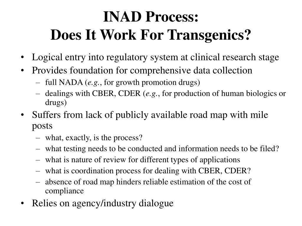 INAD Process: