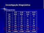 investiga o diagn stica