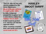 hawley smoot tariff