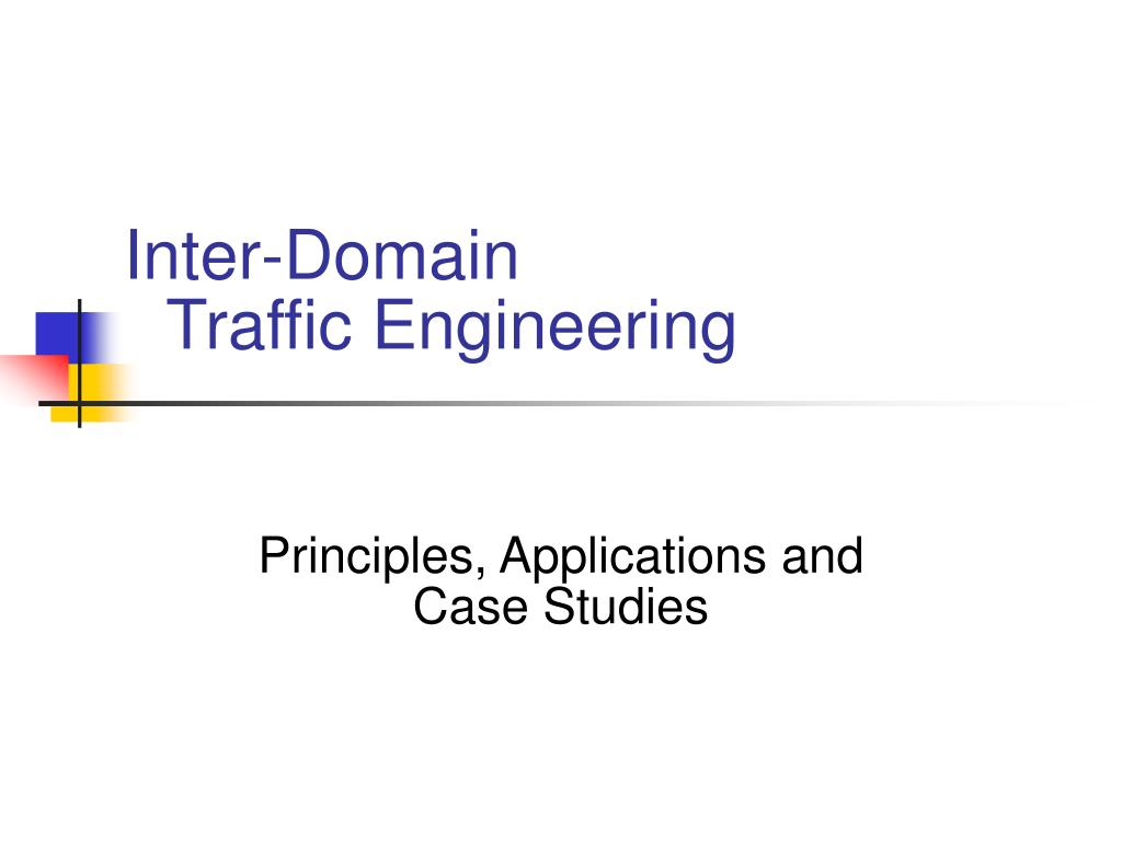 inter domain traffic engineering l.