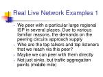 real live network examples 1