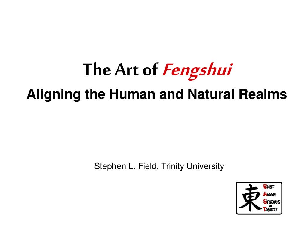 the art of fengshui aligning the human and natural realms l.