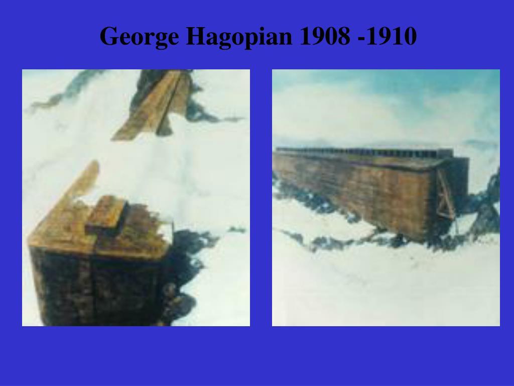George Hagopian 1908 -1910