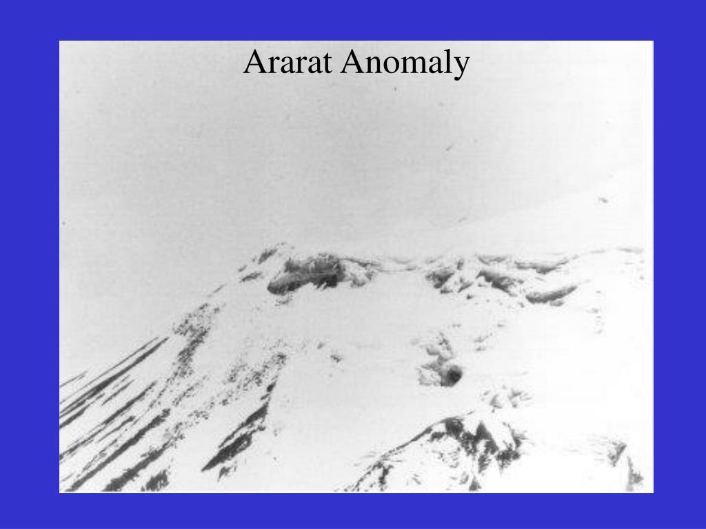 Ararat Anomaly
