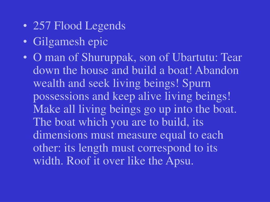 257 Flood Legends