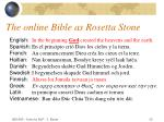 the online bible as rosetta stone10