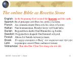 the online bible as rosetta stone12