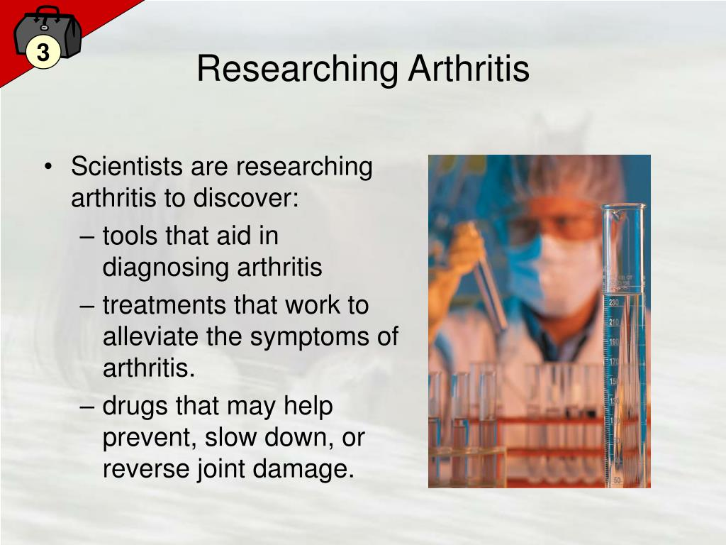 Researching Arthritis