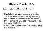 state v black 1864