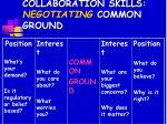 collaboration skills negotiating common ground12